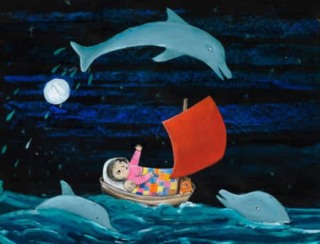 Dolphins guide you in dreams