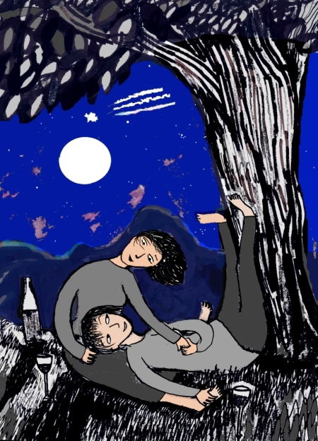 Moonlight Hike Card
