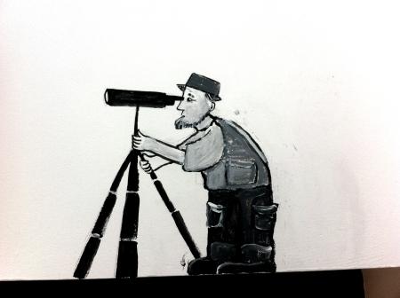 jerwood birdwatcher