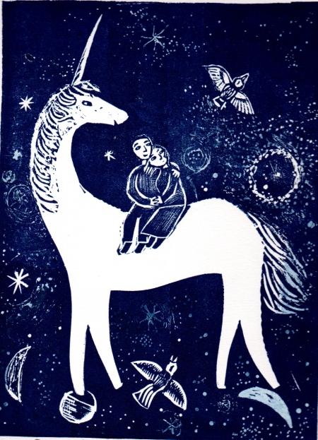 Our Midnight Unicorn Handmade