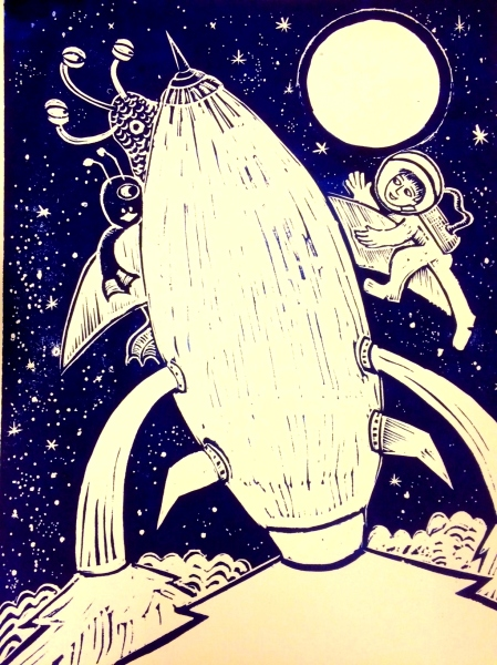 space-cadet-cover-lino-line