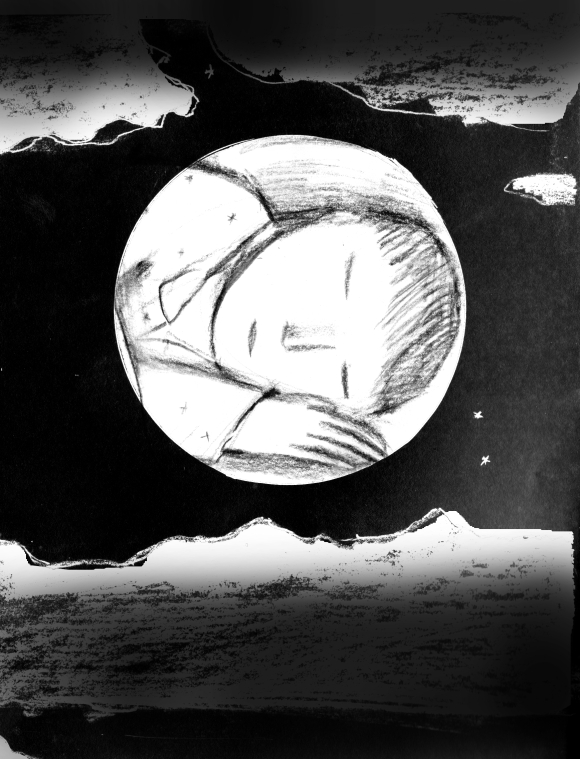 A Goodnight moon detail